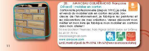Guide Circuits des Métiers d'Art de la Drôme