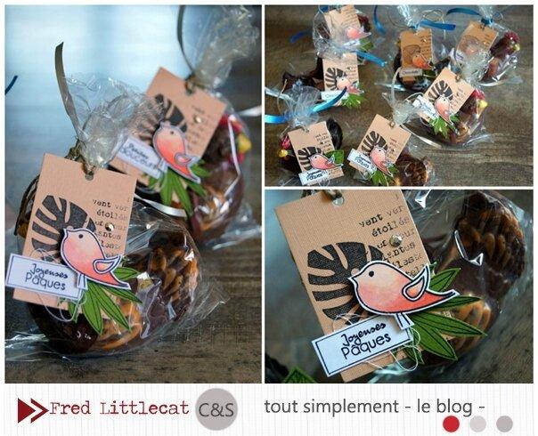 Fred Littlecat poulettes