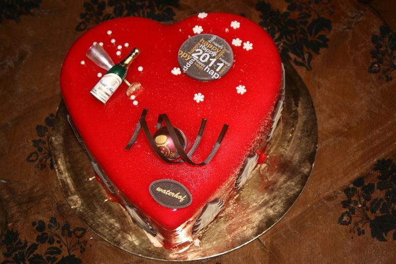 Recette gateau coeur de nouvel an