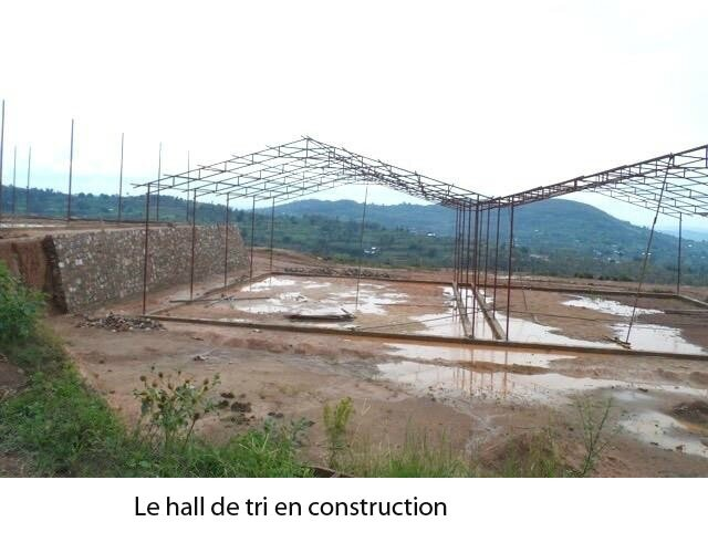 Le hall de tri en construction1
