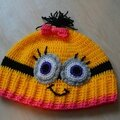 Minion hat , version 3 !!!