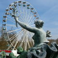 Bordeaux, place des Quiconces, fontaine des Girondins (33)