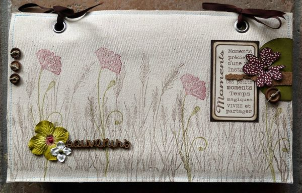 mini album souvenirs par Cathyscrap85