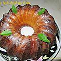 Cake citron, basilic, chocolat blanc / лимонный кекс с базиликом и белым шоколадом
