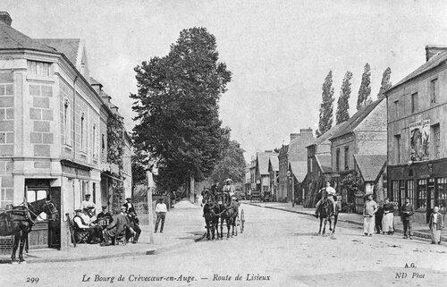 Route de Paris ou Lisieux