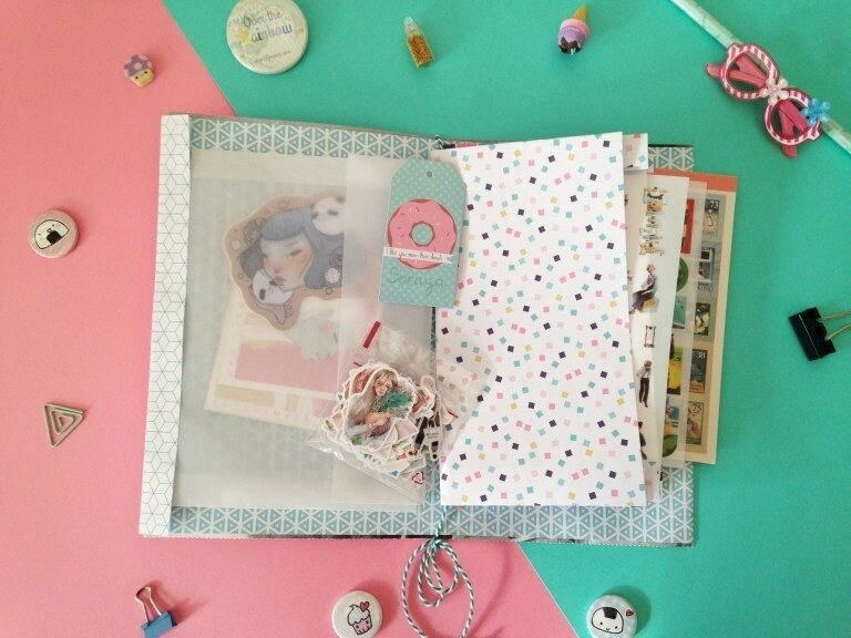 creer-carnet-pochette-stickers-fille-a-panier