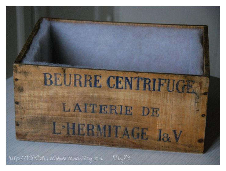 Vieille caisse en bois r look es 1000 1 choses - Vieilles caisses en bois a vendre ...