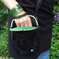 Le sac vintage chic de gaëlle et celui d'agathe