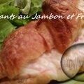 Croissants au jambon et fromage (thermomix)