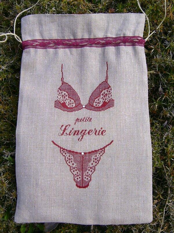 pochon lingerie