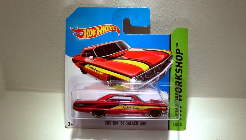 Ford galaxie 500 custom de 1964 (2014)(Hotwheels)