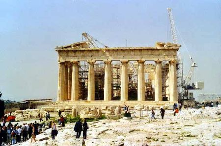 Parthenon_travaux