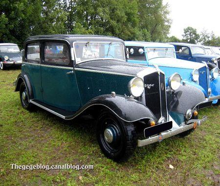 Mathis EMY 4S de 1934 (5ème Fête Autorétro étang d' Ohnenheim) 02