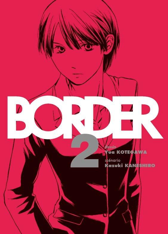 Border, tome 02, Yua Kotegawa & Kazuki Kaneshiro Komikku seinen