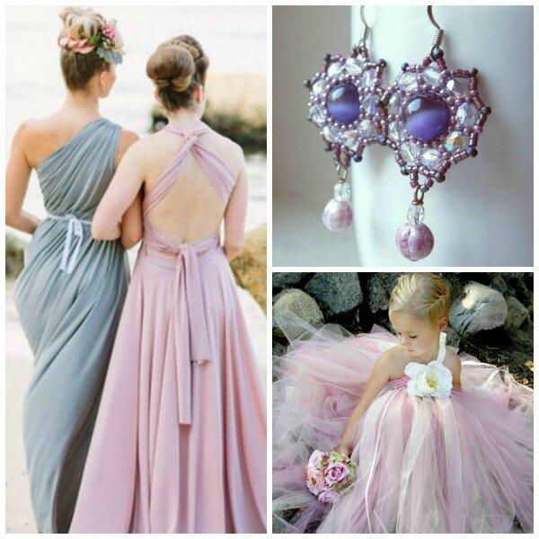 idée-tenue-mariage-rose-violet