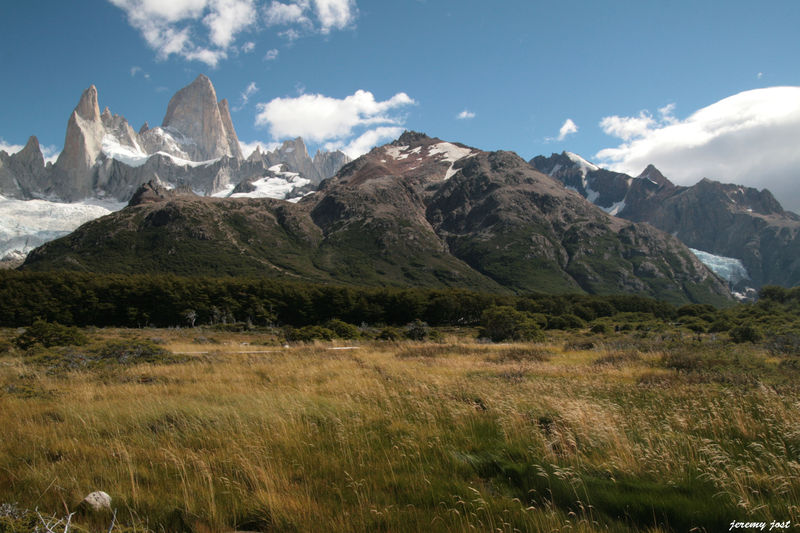 plaine face au Fitz Roy