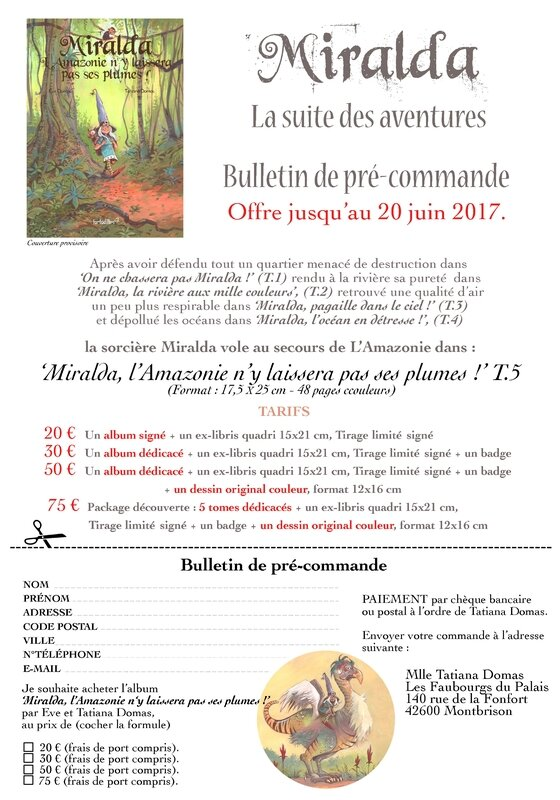 Bulletin précommande MT5