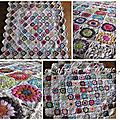 Plaid Quiltmania de Ccile