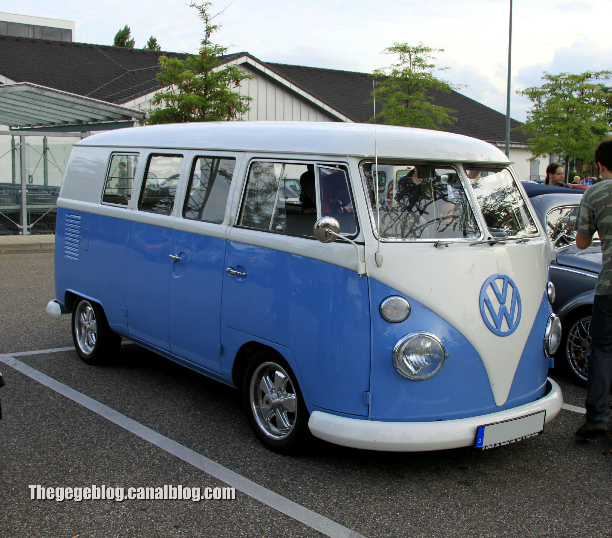 Vw Combi T1 Split De 1966 Rencard Burger King Aout 2012