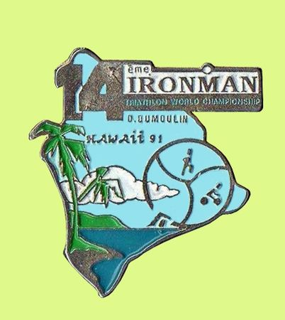 Triathlon Pin's Hawaï 1991