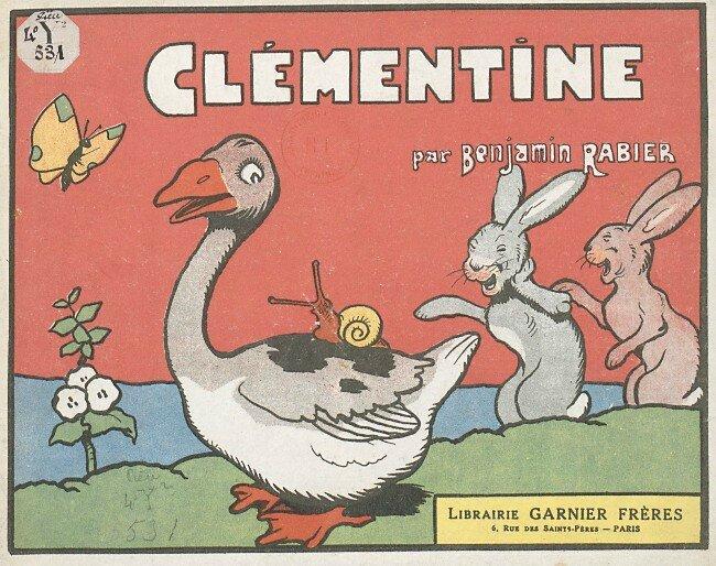 Benjamin Rabier Clementine