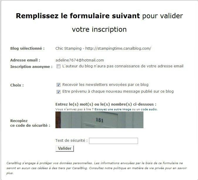 formulaire inscription newsletter 1