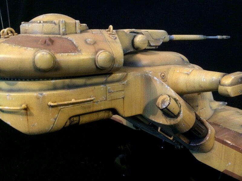 Trade Federation Tank 9