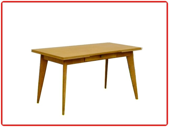 Table console bureau scandinave ed sam 1950 meubles et for Meuble bureau 1950