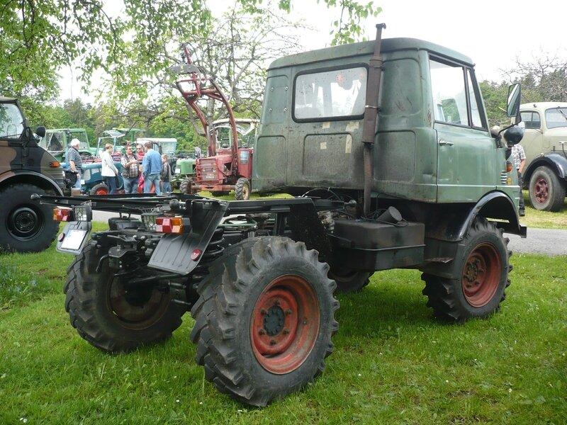 UNIMOG type 421 châssis nu 1967 Bad Teinach - Schmieh (2)