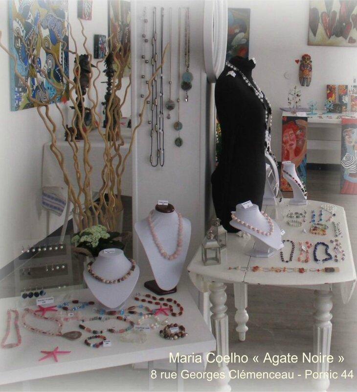 Maria COELHO créatrice bijoux AGATE NOIRE à Pornic (8)