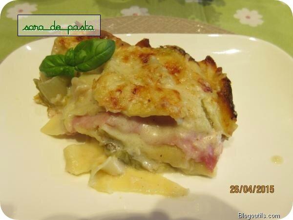 Lasagne aux chicons.