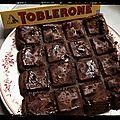 { thermomix } fondant ou gâteau au chocolat & toblerone