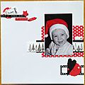 Petit Père Noël en décembre 2011
