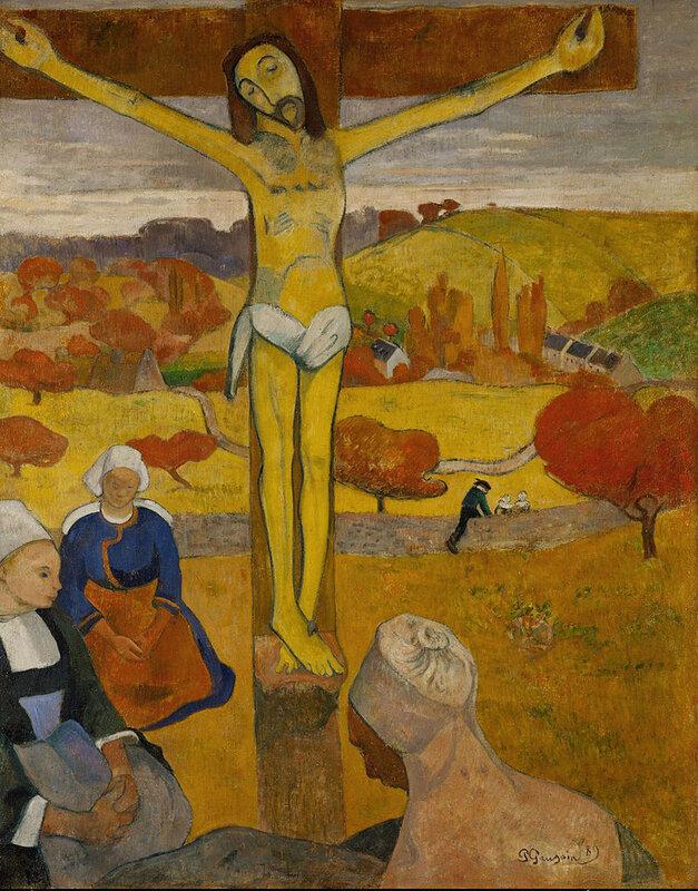1889 - Le Christ jaune