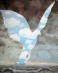 -2004- La grande famille (copie du tableau de Magritte) -100x81-