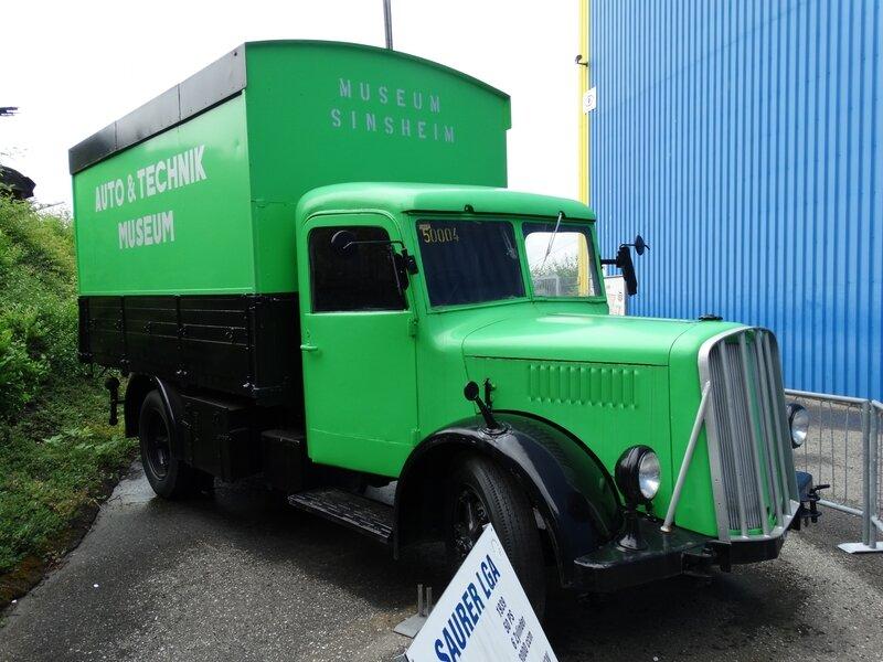 SAURER LGA Lastkraftwagen 1939 Sinsheim (1)