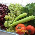 Feuilles de vigne farcies au riz et au boulgour - yaprak sarması