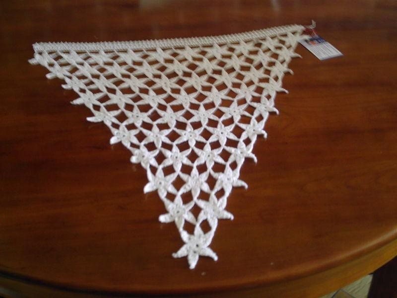 rideaux au crochet bretons