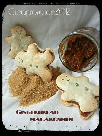 gingerbread macaronmen