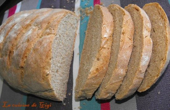 pain à la farine T110