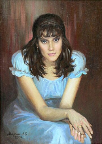 brunette_70x50_oil_canvas_2001_big