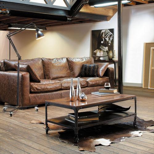 Style industriel univers masculin l 39 orangerie - Deco industrielle maison ...