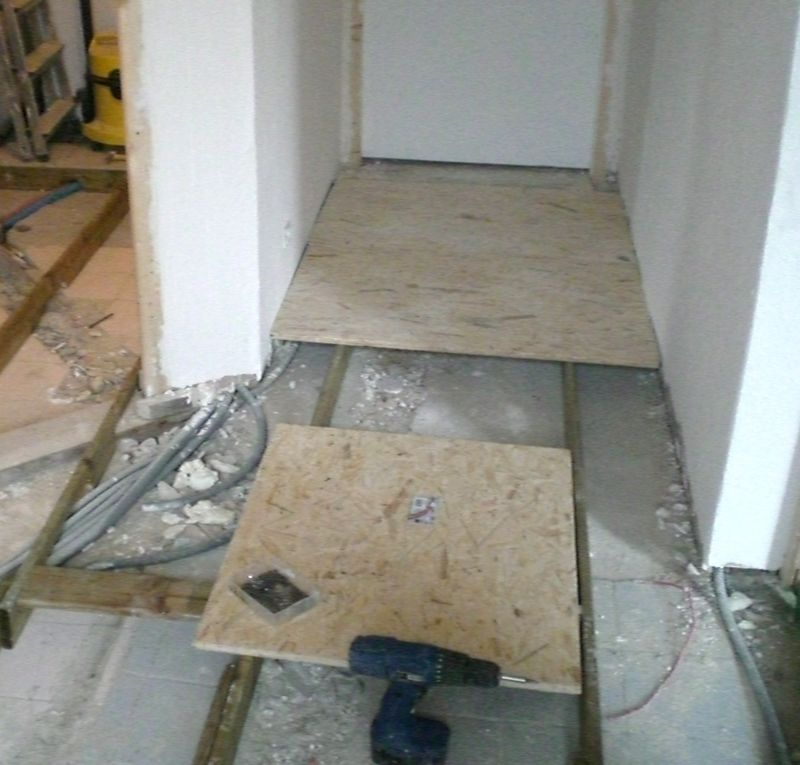 Temps pose carrelage par professionnel for Poser du carrelage sur osb