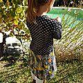 La robe aux couleurs d'automne