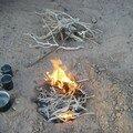 Le feu a pris