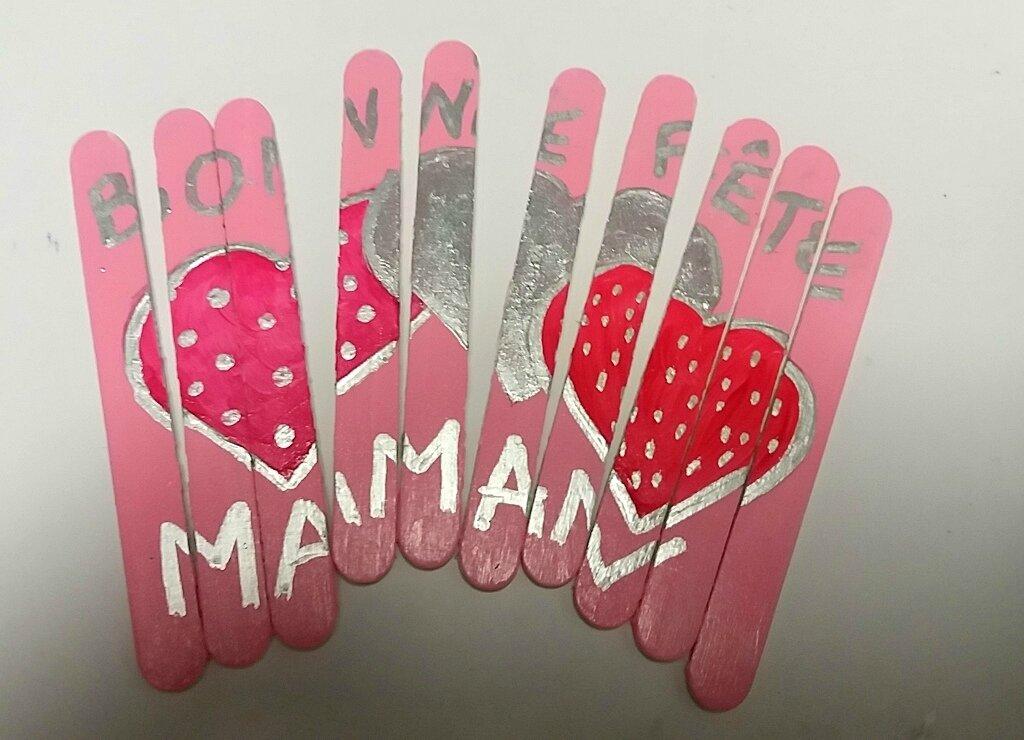 Puzzle d'amour pour maman