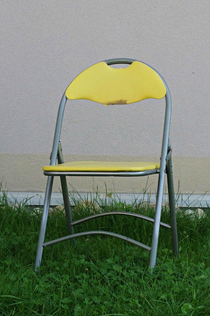 diy restaurer une chaise pliante little red. Black Bedroom Furniture Sets. Home Design Ideas