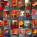 Des chaises, des fauteuils et même des petits bureaux !... la collection vintage de sièges enfant de loulou et gaga !