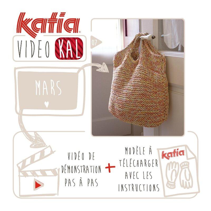Un autre sac sur vos aiguilles : Modèle KATIA