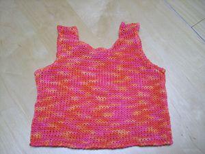 fil ruban a tricoter